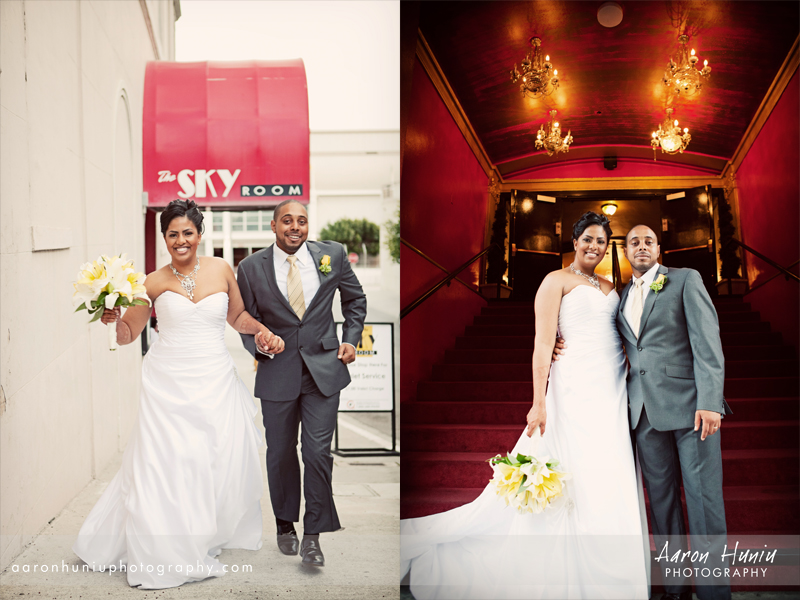 The Sky Room Wedding Courtney Anthony Long Beach