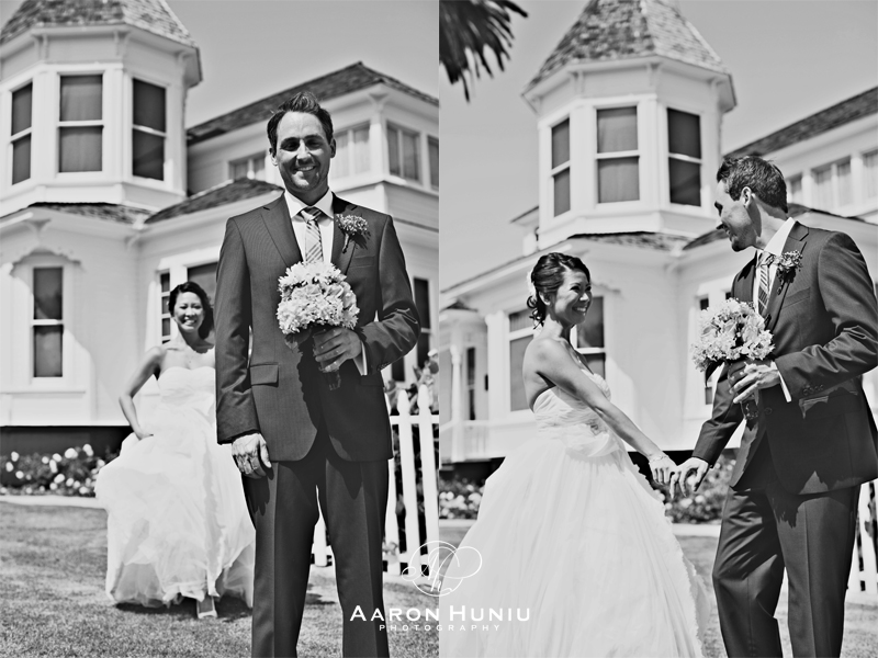 Newland House Huntington Beach Wedding Part - 37: Their Numerous Hours And Weekends Spent Putting Together By Hand All Of The  Wedding Details Truly Brought Them Closer Together. Huntington Beach ...