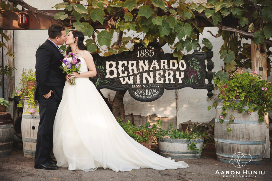 Bernardo Winery Wedding Julia Elias San Go Photographer