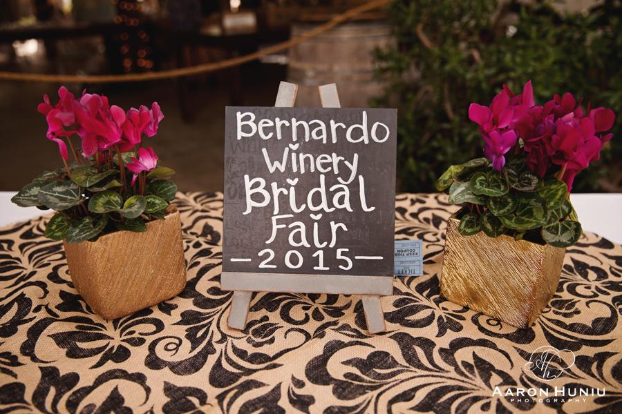 Bernardo Winery Bridal Fair, Spring 2015