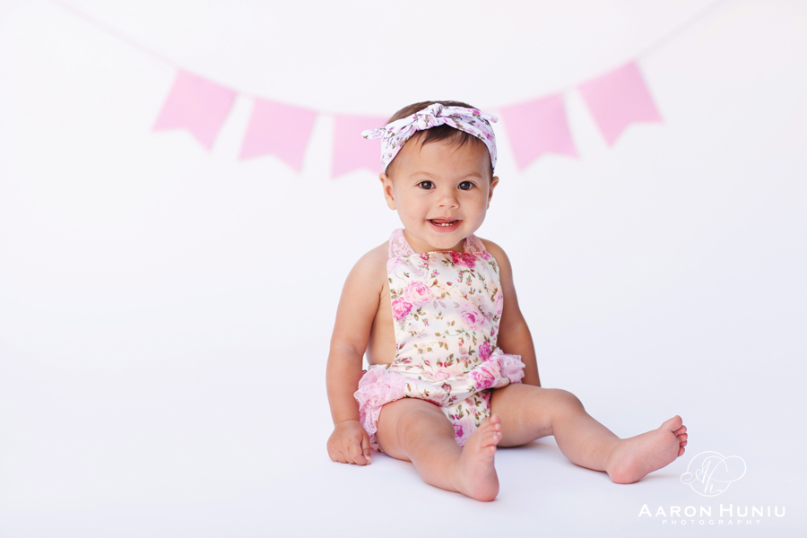 Cake smash first birthday photography marley san diego portrait photographer